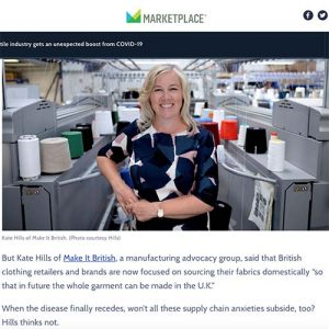 Kate Hills feature marketplace.org