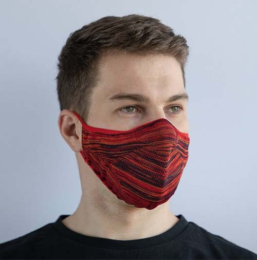 Mars Knitwear British-made knitted face mask