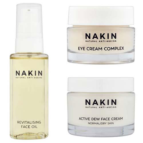 Nakin UK-made beauty brand