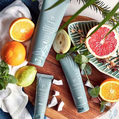 Tropic British-made beauty brand skincare and make up
