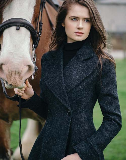 Edith Coat by Elizabeth Martin