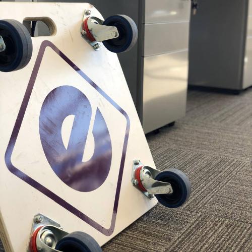 Evo supplies, UK made furniture skates