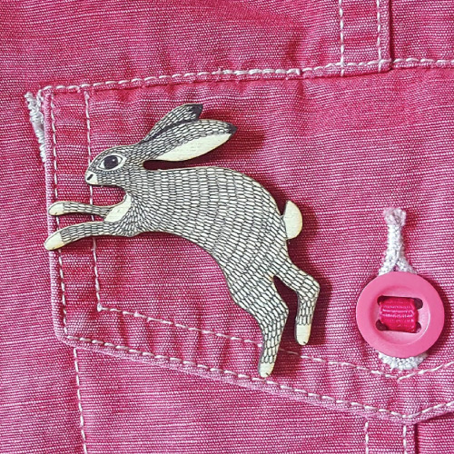 Perkins & Morley UK made wooden brooches, sustainable accessories, wildlife accessories, animal lover gifts, home-wares, accessory gifts