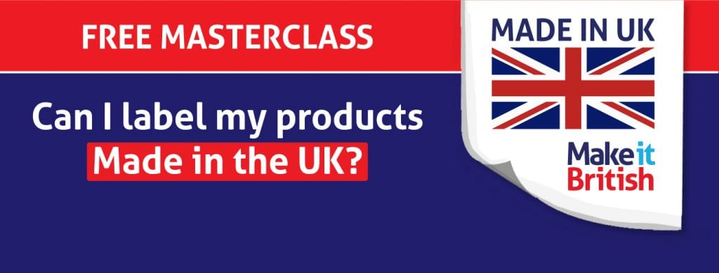 UK Labelling Masterclass