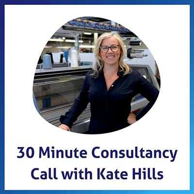 30 Minute Consultancy Call with Kate Hills