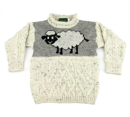 Glencroft UK made children's wool jumpers