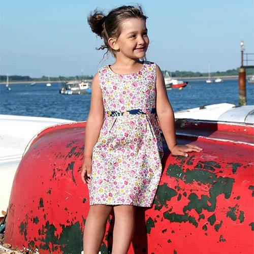 Roundabout Childrenswear UK made children's dresses