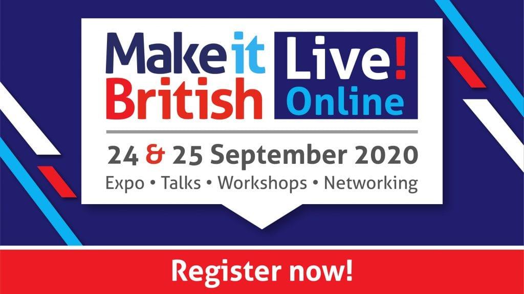 Make it British Live! Online, virtual event
