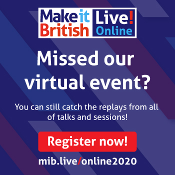 Make it British Live! Online Replay