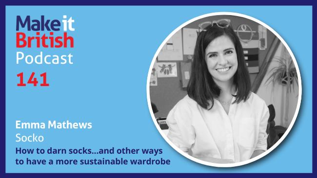 How to darn socks - Emma Mathews, Socko. The sustainable sock brand