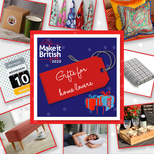 UK-made gifts for Home Lovers