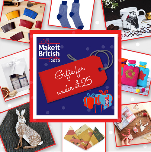UK-Made Christmas Gifts for Under £25, UK-made gifts, British-made gifts, British-gifts, UK-Made Christmas Gifts