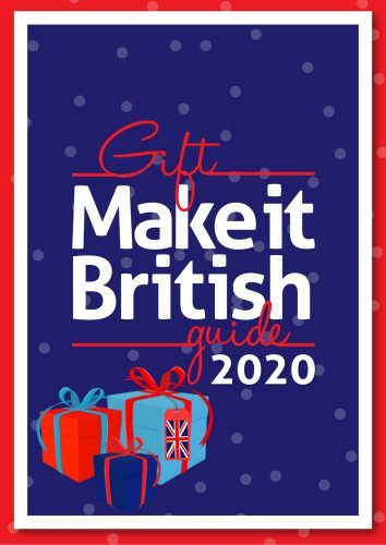Make it British gift guide, made in Britain, UK-made