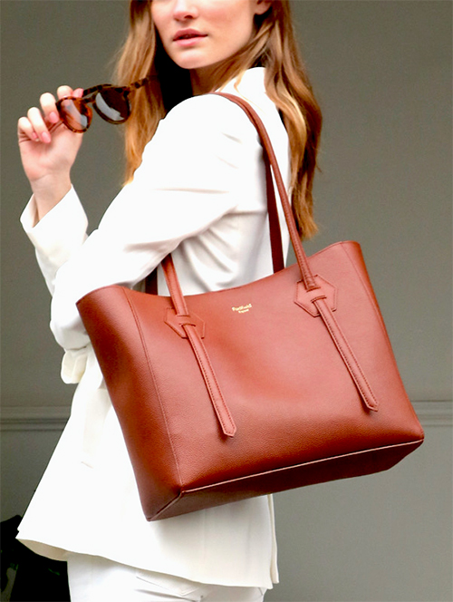 Padfield Somersley Tote in British Tan Leather copy
