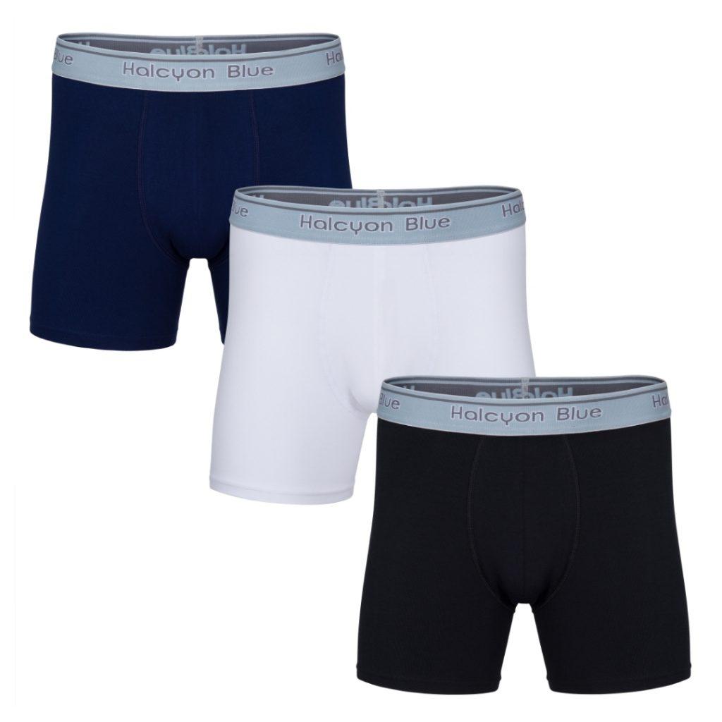 Halcyon Blue, UK-made, Boxer shorts, underwear, menswear