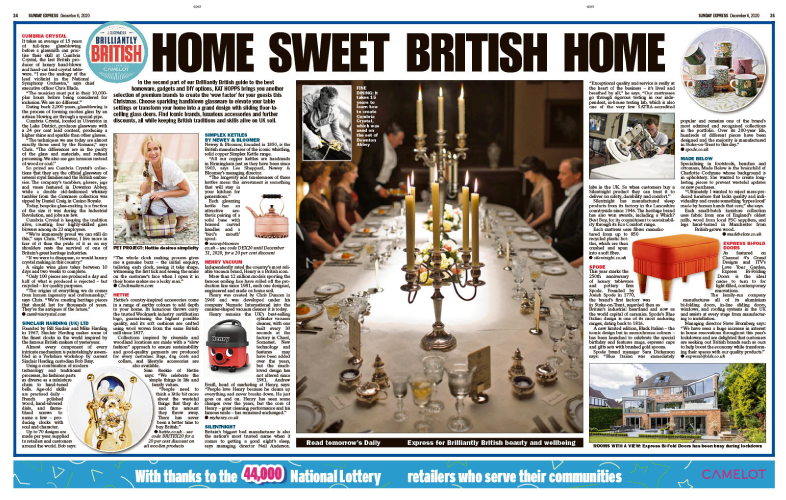 UK-made, Homewear, made in uk, best of British,