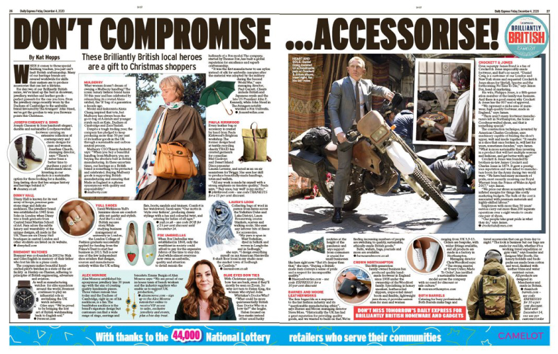 uk-made, made in Britain, UK-made shoes, accessories