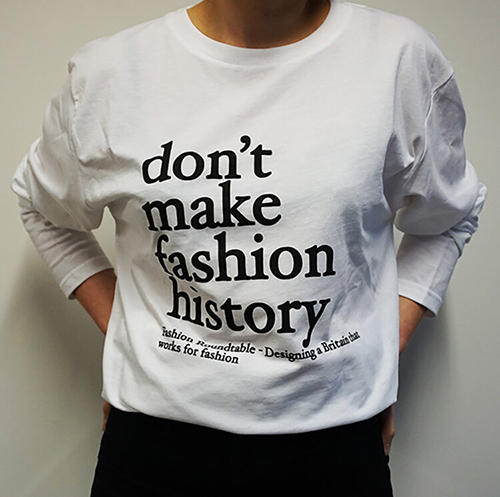 Don't make fashion history