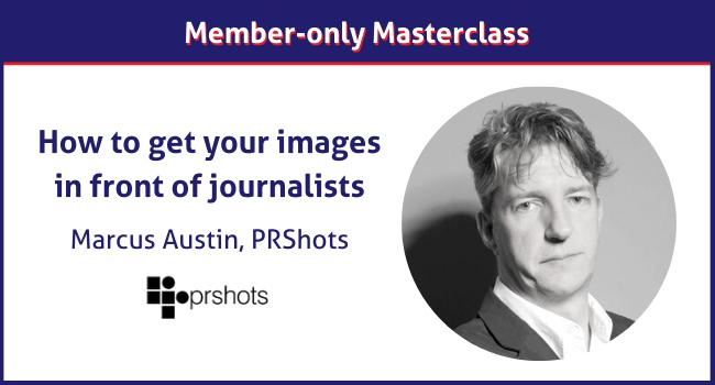 Marcus Austin PRShots Masterclass
