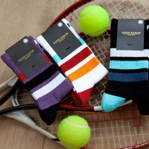 Peper Harow organic sports socks launch