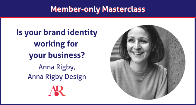 Anna Rigby Design member-only masterclass