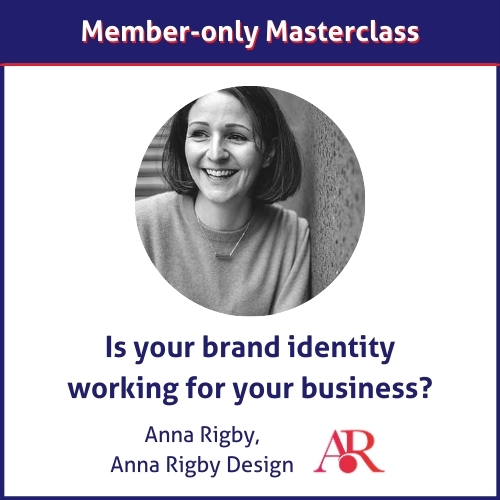 Anna Rigby member-only masterclass