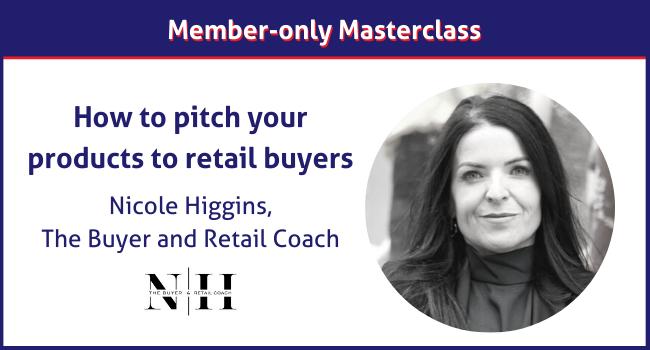 Nicole Higgins member-only masterclass