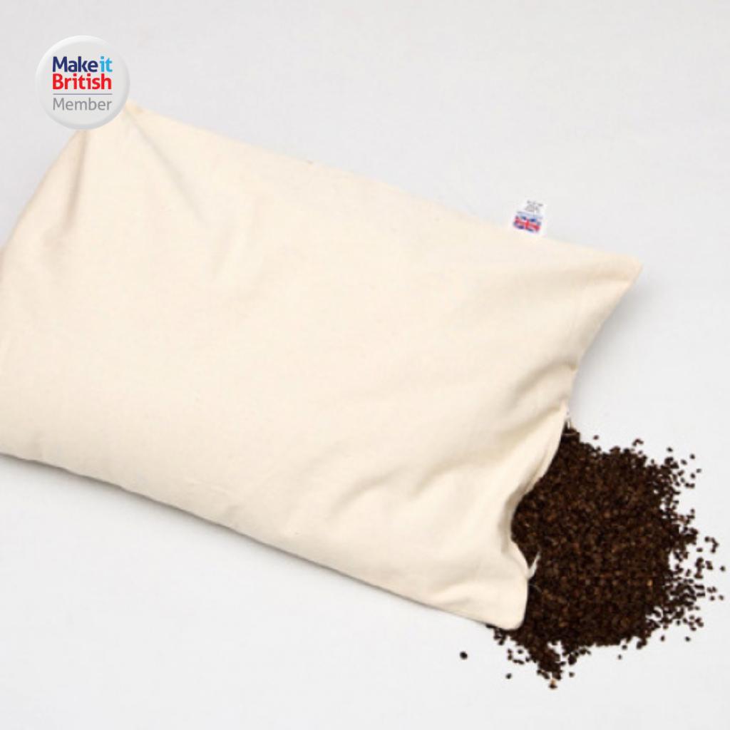 Perfect Pillow buckwheat organic pillow