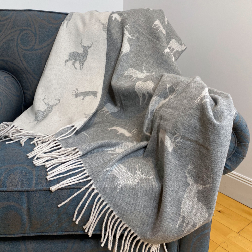 Made in UK Day The Isle Mill Stag Throw