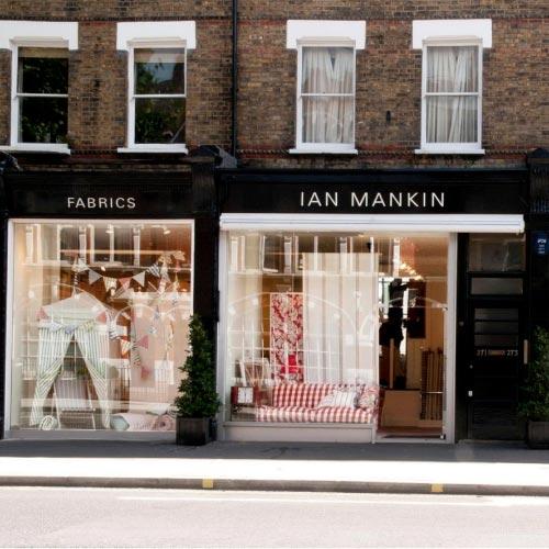 Ian Mankin retail store