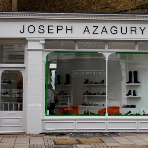 Joseph Azagury London retail shop