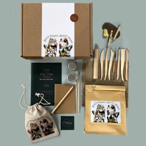 Keeeps charity clay kits
