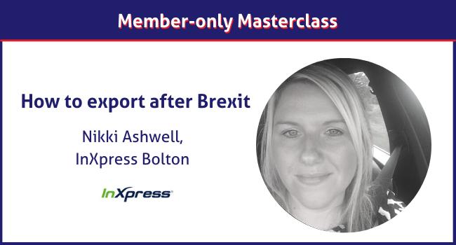 Nikki Ashwell masterclass