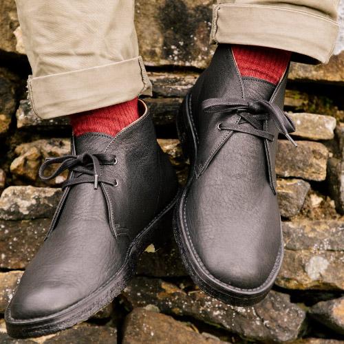 Billy Tannery Black Desert Boots