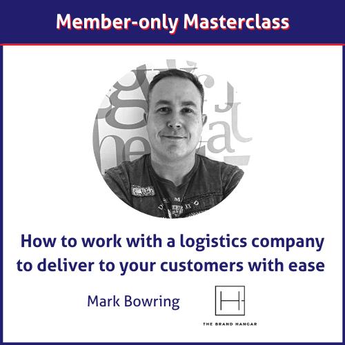 The Brand Hangar logistics masterclass
