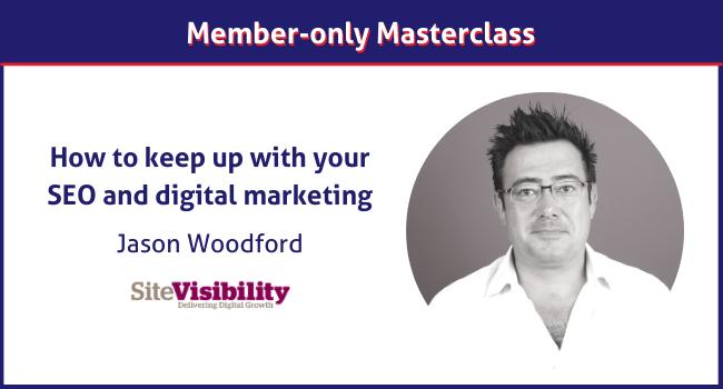 Jason Woodford Masterclass