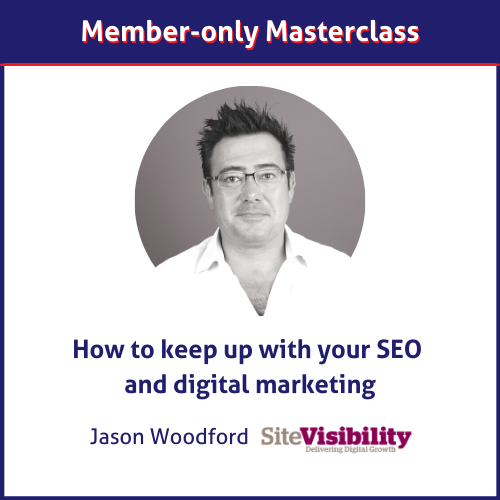 Jason Woodford SEO masterclass