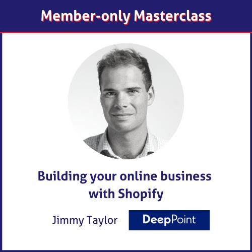 Jimmy Taylor Shopify masterclass