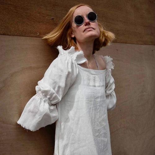 Lemuel MC Rosalind linen dress