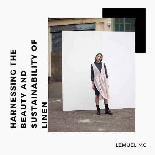 Lemuel MC sustainable designer