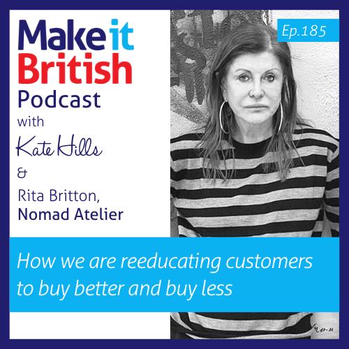 Podcast 185 Rita Britton