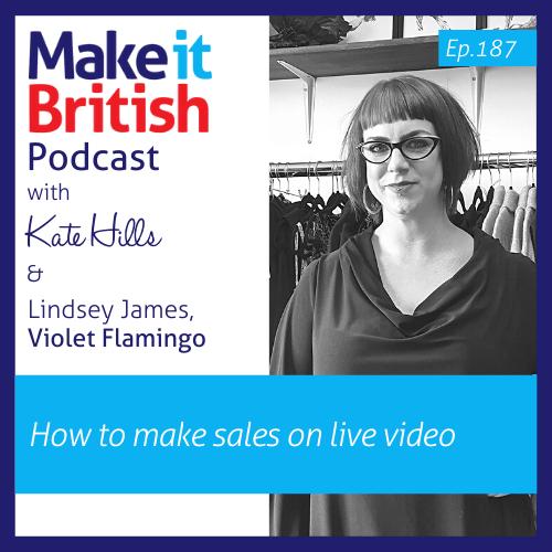 Podcast episode 187 Lindsey James Violet Flamingo