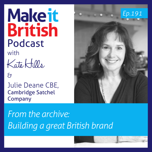Julie Deane CBE Podcast Episode