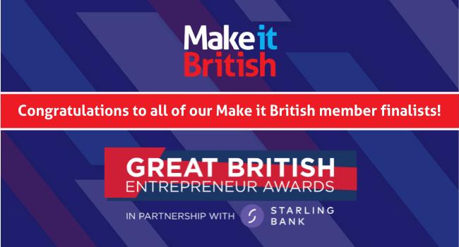 Great British Entrepreneur Awards 2021 finalists