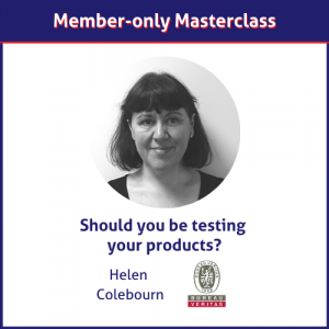 Helen Colebourn Bureau Veritas masterclass