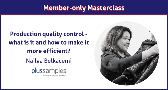 Nailya Belkacemi, Plus Samples masterclass