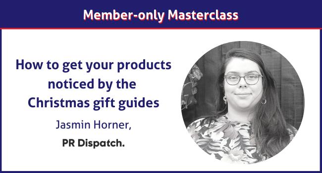 PR Dispatch masterclass Christmas gift guides