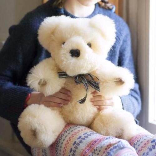 Sheepland sheepskin teddy bears, UK-made gifts