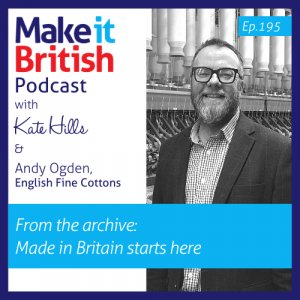English Fine Cottons Andy Ogden Podcast episode