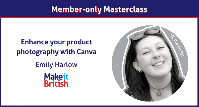 Enhance your product photography with Canva masterclass